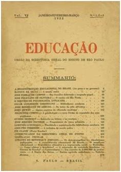 Na década de 1930, designado Secretário da Educação do Rio de Janeiro,  desenvolve programa de const